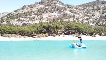 jeziora ardales koło Malagi