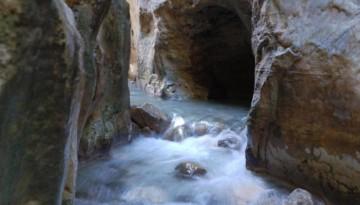 wędrówka przez Rio Chillar w Nerja