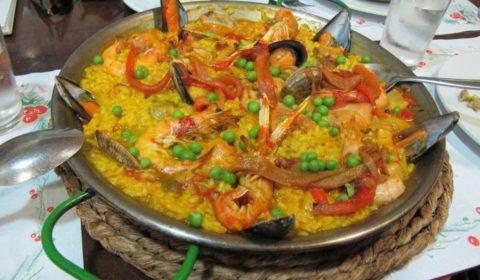 paella w Alicante