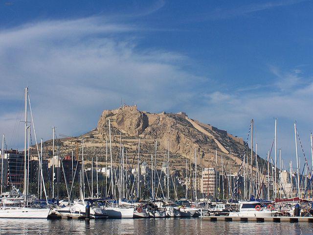 zamek sw. Barbary w Alicante