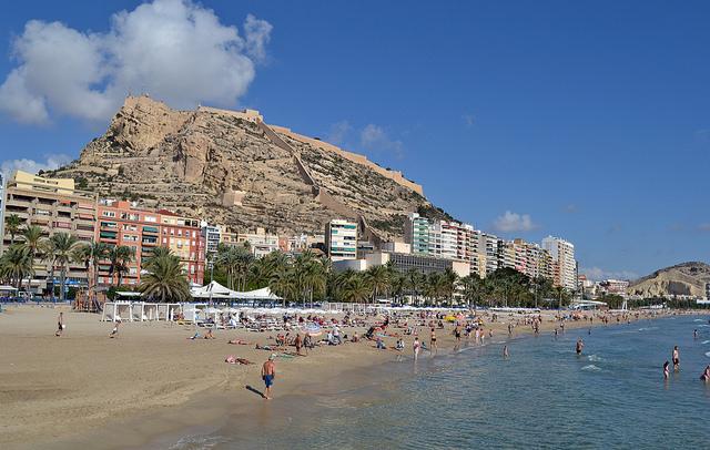 piękne plaże w Alicante