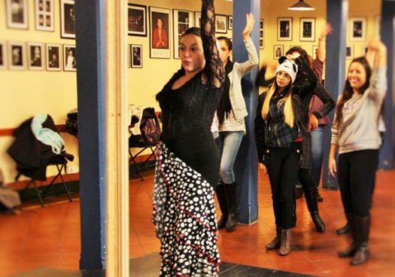 nauka flamenco w Madrycie, kurs hiszpańskiego i flamenco w Hiszpanii