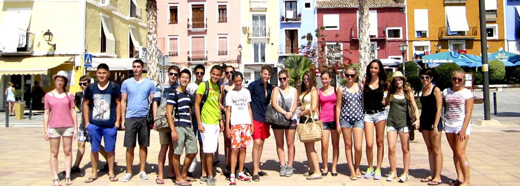 oboz hiszpanskiego dla mlodziezy szkolnej w Alicante