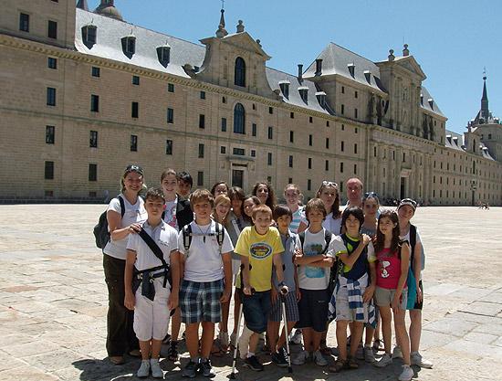 wakacyjny oboz hiszpanskiego kolo Madrytu