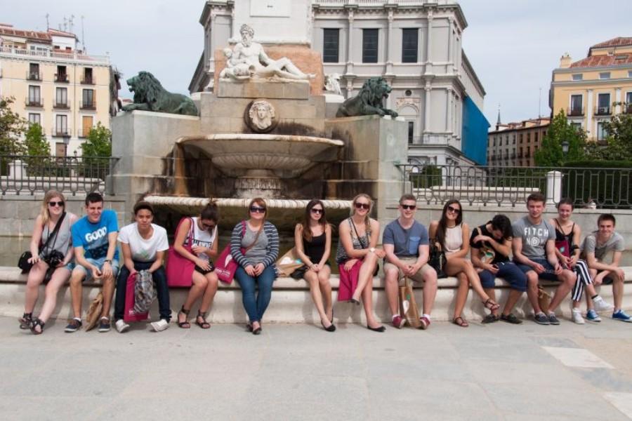 wakacyjny w Madrycie