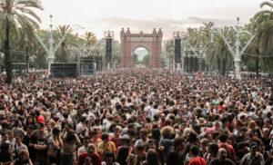 festiwal w Barcelonie