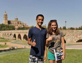 wakacyjne obozy językowe salamanca, wakacyjne kursy hiszpańskiego dla dzieci Salamanca, kurs hiszpańskiego Salamanca