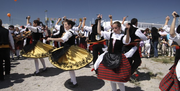 fiesta de los pueblos Málaga