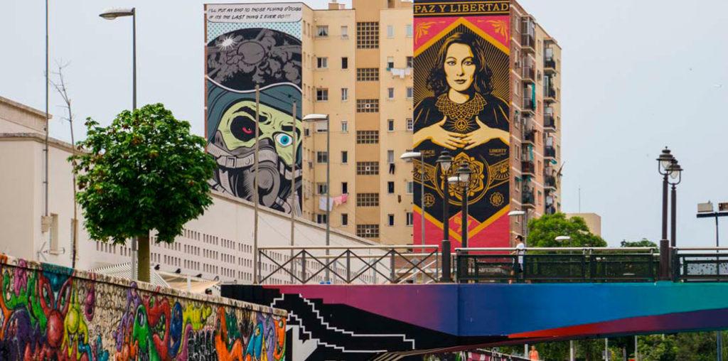 calles de Malaga, arte callejero, arte moderno en Malaga
